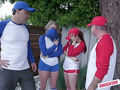 Baseball comprehensive Taylor Blake is fucked darn great during swinger party