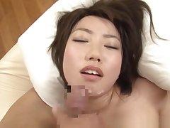Chika Sena horny Asian schoolgirl enjoys hot position 69
