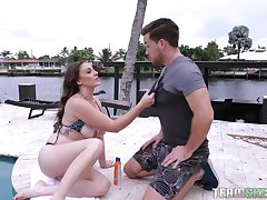one hard increased by lion-hearted penis is good enough for Melanie Hicks increased by Alex Blake