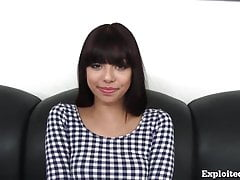 Cute 18 Pedigree Old Latina On Casting Couch!
