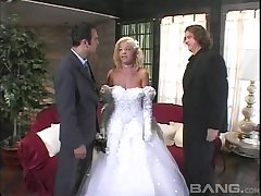 Bride gets fucked yon before her arrivisme wedding