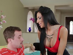 Lucky chap got his cock pleasured by warm pussy of Jaclyn Taylor