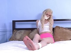 Excellent xxx clip Hogtied hot , take a look