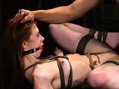 Rope bondage Sexy young girls, Alexa Nova and Kendall