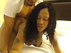 Phat Ebony Bitch Shakes Telling Ass After a long time Getting Banged