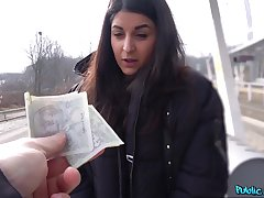 Money sex leads European teen to insane POV