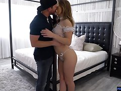 Dissolute babe not far from chesty ass Paige Owens gets fucked with the addition of jizzed
