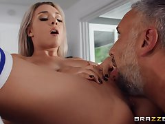 Deep sex after the man licks her firsthand cunt together with butt hole