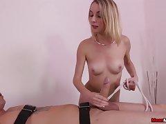 Narlie Reese femdom handjob porn