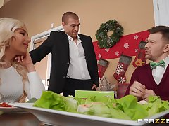 Dirty wife Carmen Caliente fucks her husband's older brother