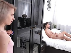 When Herde Wisky spies a forbidden large cock, she is instantly horny