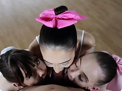 Teen anal party Ballerinas