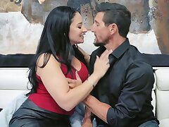 Irresistible wife Sheena Ryder takes not present her clothes to ride