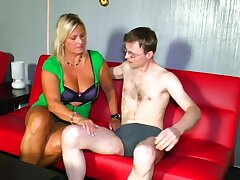 Addictive mature gets intimate with much younger hunk